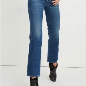 Lucky Brand Cropped Jean Button Fly Size 12